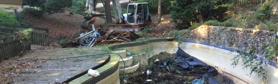 Pool Removal in Annapolis, Maryland