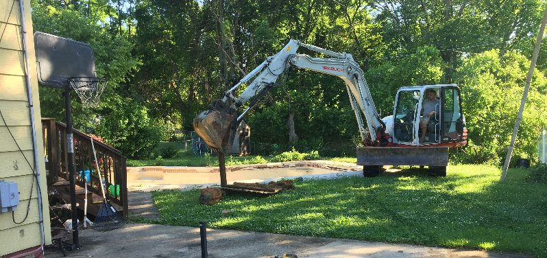 Owings Mills Swimming Pool Removal - Carroll Bros  Contracting