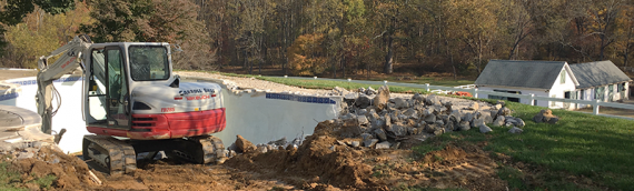 Montgomery County Inground Pool Removal