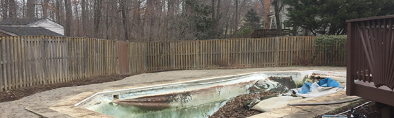Glendale Inground Pool Removal