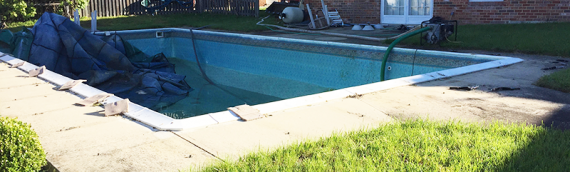 Bowie Swimming Pool Removal