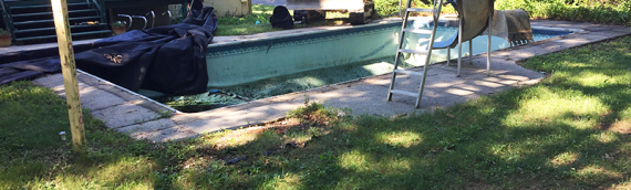 Millersville Pool Removal Project