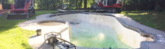 Silver Spring Swimming Pool Removal