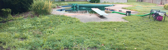 Cape St. Claire Pool Removal