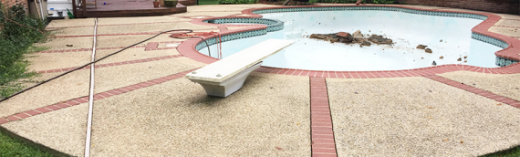 Silver Spring Pool Removal