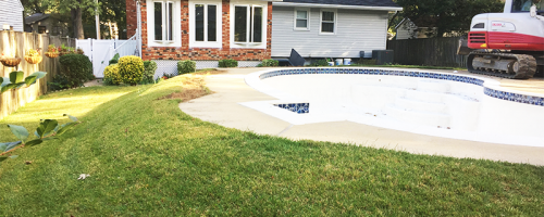 pool removal in Annapolis, MD 1