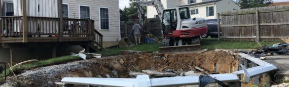 Above Ground Pool Removal in Elkridge Maryland
