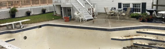 Inground Pool Removal in Parkville, Maryland